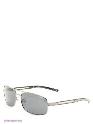 Солнцезащитные очки Polaroid. Цвет: антрацитовый