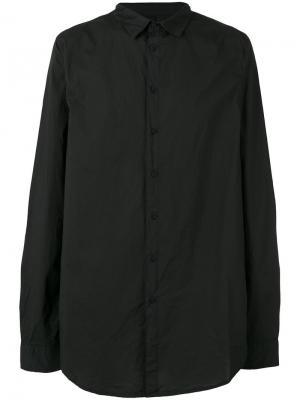 Удлиненная рубашка Poème Bohémien. Цвет: чёрный