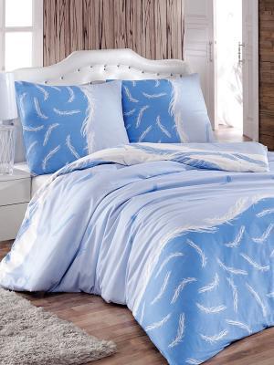 Постельное белье Форса Тет-а-Тет. Цвет: голубой, светло-голубой, белый