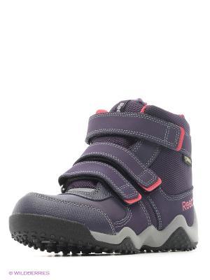 Ботинки Reebok. Цвет: темно-фиолетовый