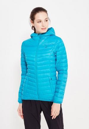 Куртка утепленная ASICS. Цвет: голубой