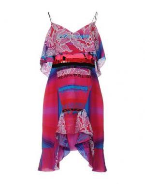 Короткое платье PETER PILOTTO. Цвет: светло-фиолетовый