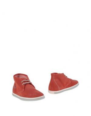 Полусапоги и высокие ботинки GUARDIANI DRIVE. Цвет: красный
