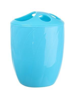 Подставка для зубных щеток Migura. Цвет: синий