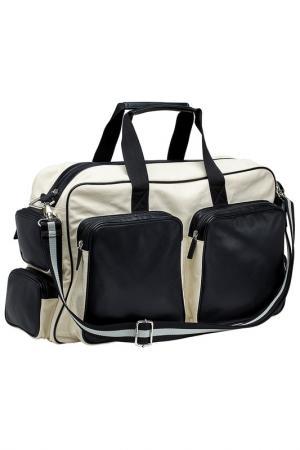 Дорожная сумка Burgmeister. Цвет: бежевый