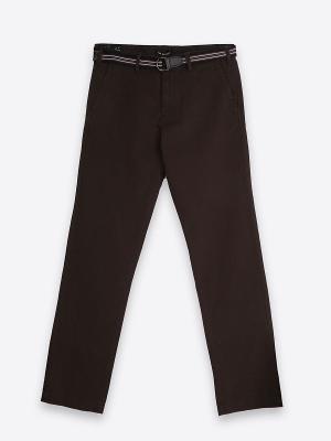Брюки Top Secret. Цвет: серо-коричневый