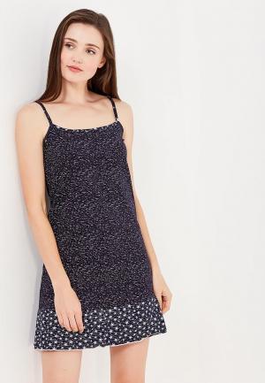 Сорочка ночная TrendyAngel. Цвет: синий