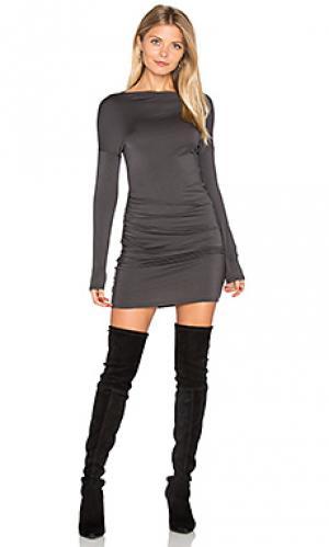 Платье sheena LA Made. Цвет: серый