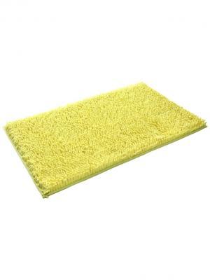 Коврик для ванной 60х100см bm-mf-d6/1-3 Cite Marilou. Цвет: желтый