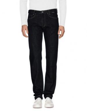 Джинсовые брюки BETWOIN. Цвет: стальной серый