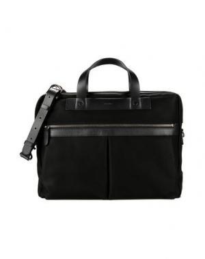 Деловые сумки MISMO. Цвет: черный