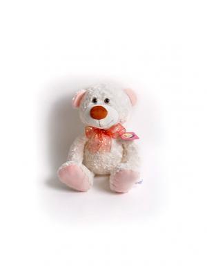 Мягкая игрушка Медвежонок Ник Malvina. Цвет: белый