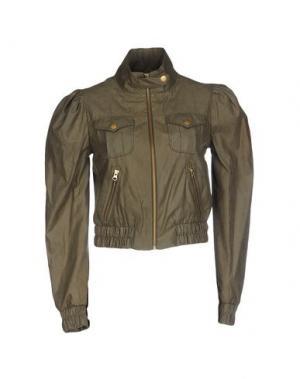Куртка MARGIT BRANDT. Цвет: зеленый-милитари