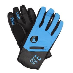 Перчатки сноубордические  Addict Blue Picture Organic. Цвет: черный,синий