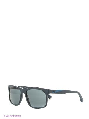 Солнцезащитные очки Emporio Armani. Цвет: синий