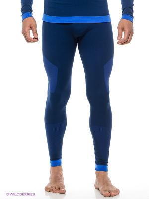 Термобелье-брюки Guahoo. Цвет: синий
