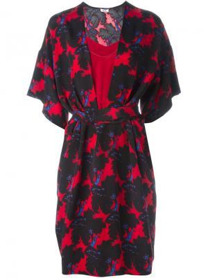 Платье с цветочным принтом Issa. Цвет: многоцветный