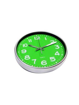 Часы настенные ArteNuevo. Цвет: зеленый