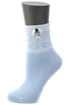 Носки ALLA BUONE. Цвет: голубой