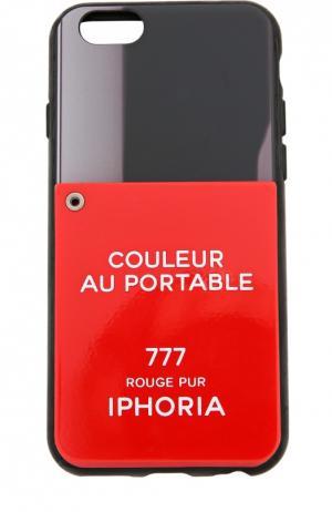 Чехол для iPhone 6 с декоративной отделкой Iphoria. Цвет: красный