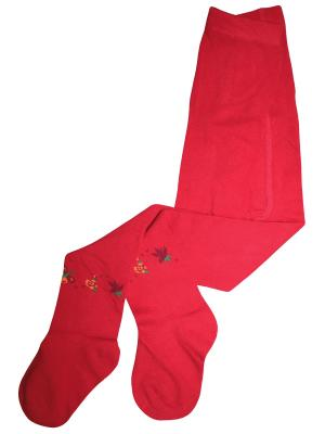 Колготки Master Socks. Цвет: красный