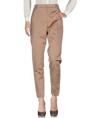 Повседневные брюки ROCHAS. Цвет: хаки