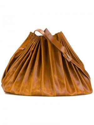 Большая сумка-мешок Ma+. Цвет: коричневый