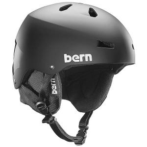 Шлем для скейтборда  Snow Eps Macon Matte Black/Black Liner Bern. Цвет: черный