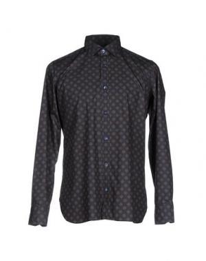 Pубашка GIAMPAOLO. Цвет: черный