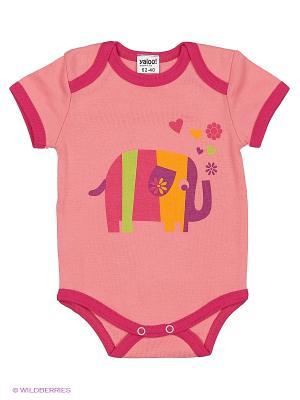 Комплект одежды Yallo Kids. Цвет: розовый, малиновый