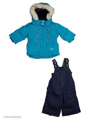 Комплект одежды Gusti. Цвет: голубой