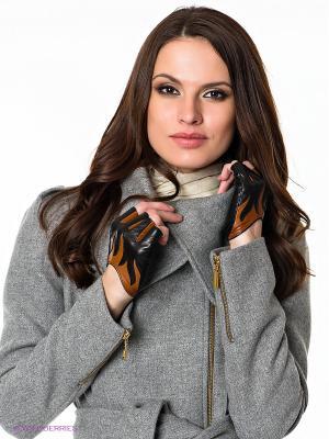 Перчатки Eleganse. Цвет: черный, коричневый