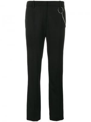 Строгие брюки Mugler. Цвет: чёрный