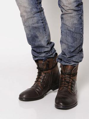 Ботинки BELWEST. Цвет: темно-коричневый, коричневый