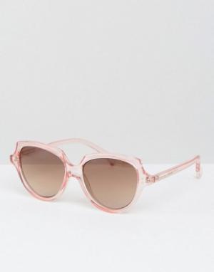 Somedays Солнцезащитные очки кошачий глаз Lovin. Цвет: розовый