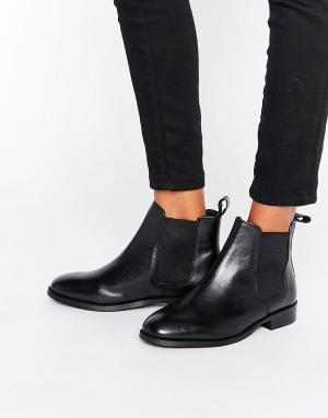 Office Кожаные ботинки челси Amble. Цвет: черный