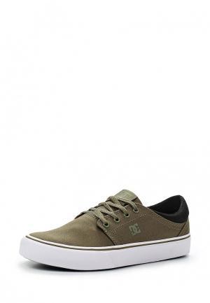 Кеды DC Shoes. Цвет: зеленый