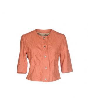Пиджак VINTAGE DE LUXE. Цвет: лососево-розовый