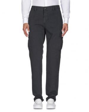 Повседневные брюки CARRERA. Цвет: свинцово-серый
