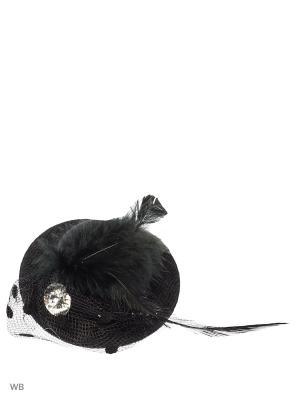 Зажим(шляпа мал) Bizon. Цвет: черный