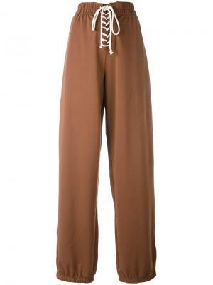 Спортивные брюки Fenty X Puma. Цвет: коричневый