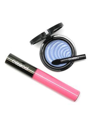 Набор декоративной косметики 2 по цене 1 POETEQ. Цвет: розовый, голубой