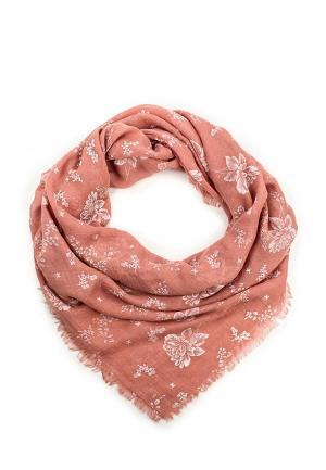 Платок Pieces. Цвет: розовый