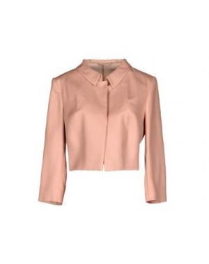 Пиджак LES COPAINS. Цвет: пастельно-розовый