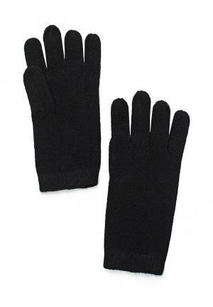 Перчатки Mango. Цвет: черный