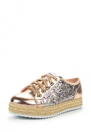 Ботинки MTNG. Цвет: золотой