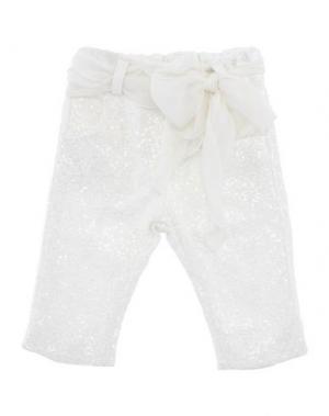 Повседневные брюки LADIA. Цвет: белый