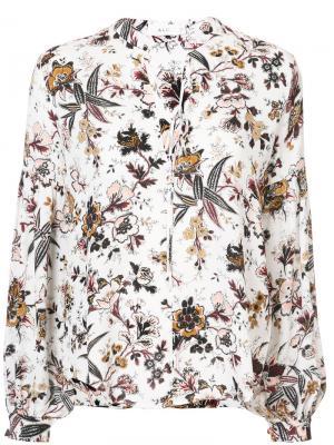 Floral print blouse A.L.C.. Цвет: белый