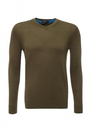 Пуловер Gianni Lupo. Цвет: хаки