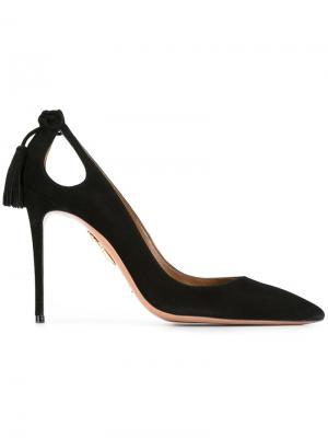 Туфли-лодочки Forever Aquazzura. Цвет: чёрный